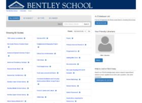 library.bentleyschool.net
