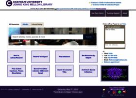 library.chatham.edu