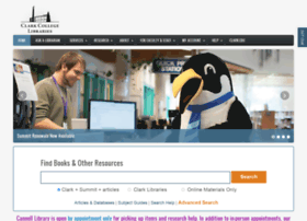 library.clark.edu