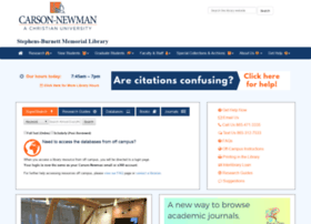 library.cn.edu