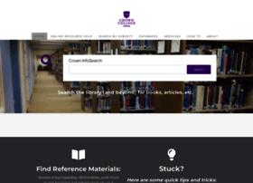 library.crown.edu
