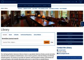 library.cshl.edu