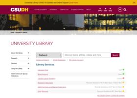 library.csudh.edu