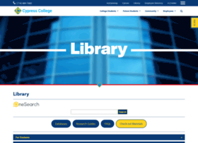 library.cypresscollege.edu