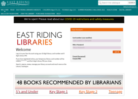 library.eastriding.gov.uk