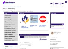 library.fontbonne.edu