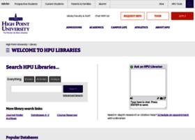 library.highpoint.edu