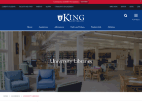 library.king.edu