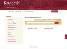 library.kutztown.edu