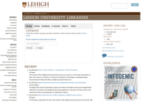 library.lehigh.edu