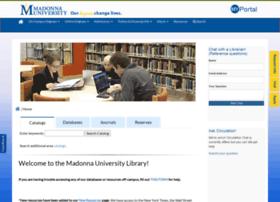 library.madonna.edu