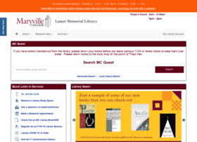 library.maryvillecollege.edu