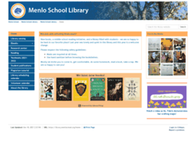 library.menloschool.org