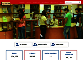 library.nirmauni.ac.in