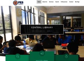 library.pes.edu