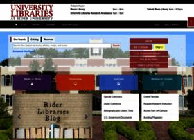 library.rider.edu