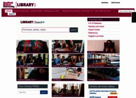 library.shu.ac.uk