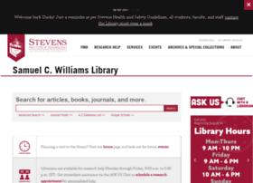 library.stevens.edu