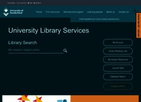 library.sunderland.ac.uk
