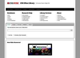 library.uvawise.edu
