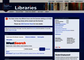 library.wcsu.edu