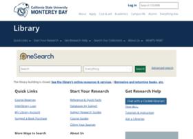 library2.csumb.edu