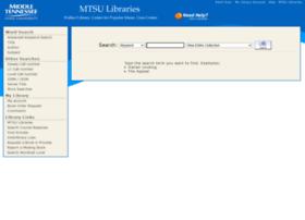 library2.mtsu.edu