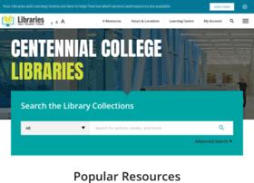 libraryapps.centennialcollege.ca