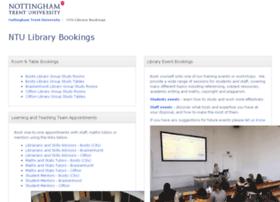 librarybookings.ntu.ac.uk