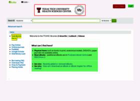 librarycatalog.ttuhsc.edu