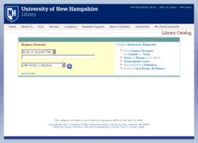 librarycatalog.unh.edu