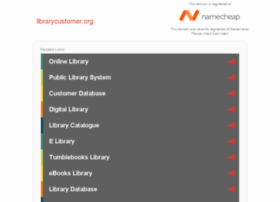 librarycustomer.org