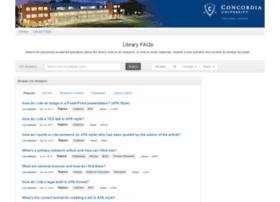 libraryfaqs.cu-portland.edu
