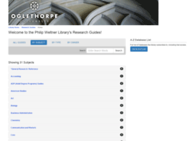 libraryguides.oglethorpe.edu