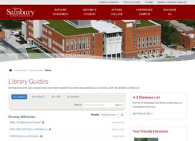 libraryguides.salisbury.edu