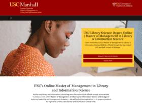 librarysciencedegree.usc.edu