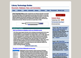 librarytechnology.org