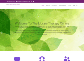 librarytherapy.co.uk