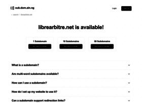 librearbitre.net