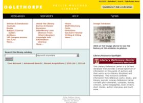 libsun.oglethorpe.edu