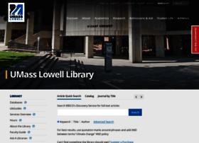 libweb.uml.edu
