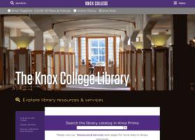 libweb08.knox.edu