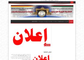 libyschebotschaft.de