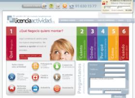 licenciaactividad.es