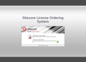 license.sitecore.net