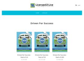 licensed2live.myshopify.com