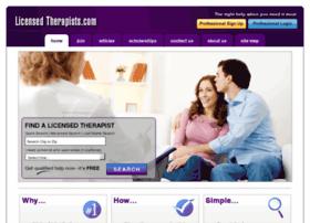 licensedtherapists.com