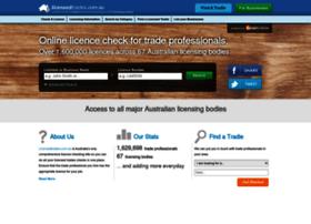 licensedtrades.com.au