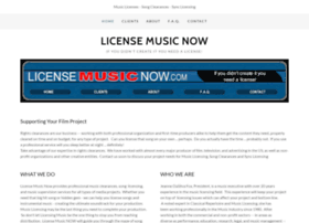 licensemusicnow.com