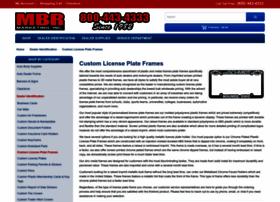 licenseplateframesdirect.com